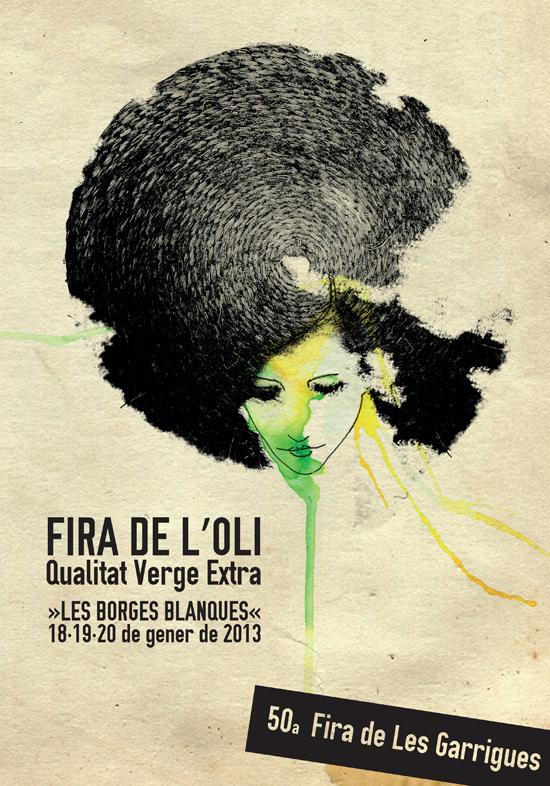 Cartell 50a Fira de Les Garrigues